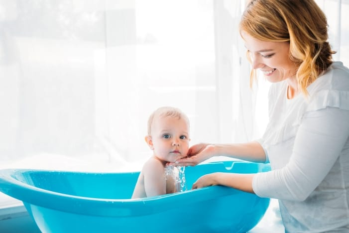 how often to bathe a baby